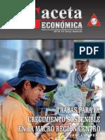 Revista Gaceta Económica N° 22, Año XXV, Octubre 2016- Huancayo - Perú