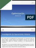 Introducción y Formulación de Modelos