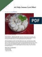 Resep Kue Putri Salju Jamuan Lezat Dihari Raya.docx
