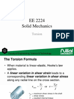 EE2224 - Solid Mechanics - Torsion