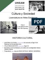Clase 2 Cultura y Sociedad