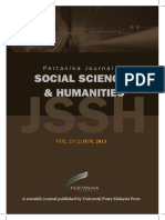 JSSH Vol. 23 (2) Jun. 2015 (View Full Journal)