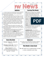 crew newsletter 10 19