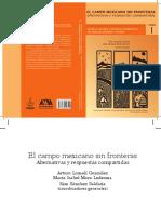 2012 El Campo Mexicano Sin Fronteras Tomo I