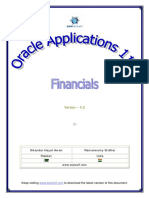 Oracle Applications - Financials 11i - V4.2