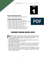 Bab i Konsep Dasar Basis Data1