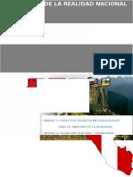Realidad Nacional Del Perú