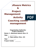Event Report on Coaching Class (1)