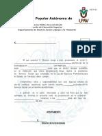 Carta de Presentacion (Servicio Social)