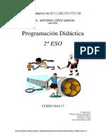 Programación 2º Eso 2016-17