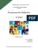 Programación 2016-17 4º Eso