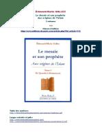 LeMessie - Présentation de l'Ouvrage