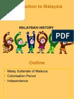 Week 1 History of Malaya