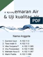 Pencemaran Air & Uji Kualitas Air