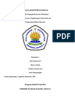4. Prinsip Pengorganisasian Dan Manajemen Kewirausahaan, Pengembangan Usaha Kecil, Pokok-pokok Pikiran Berusaha