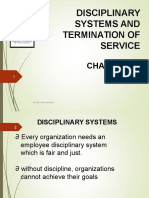 Topic 8 -Disciplinary System