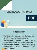 Terminologi Farmasi