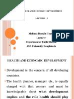Lec- 5 [Health & Development]