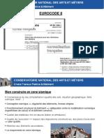 Parasismique - Partie 2 - Eurocode 8 - Presentation PowerPoint