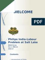 Philip India-labour Issus at Salt Lake.