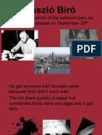 BIRO History of Writing Spain