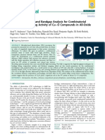 Quantum Efficiency and Bandgap Analysis for Combinatorial