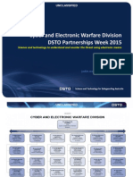 Cyber and Electronic Warfare Division Presentation PW2015