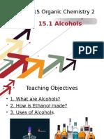IGCSE Chemistry_Chapter 15.1 Alcohols