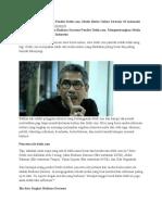 Biografi Budiono Darsono Pendiri Detik