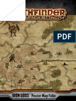 Iron Gods - Map Folio
