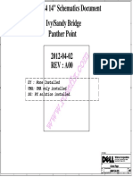 Dell Inspiron 14z-5423 - Wistron Dmb40 (Bmw-z4-Dis) - 11289-1 - Rev a00 02abr2012