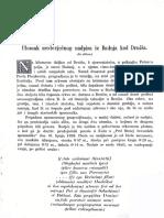 Ulomak Sredovječnog Nadpisa Iz Badnja Kod Drniša