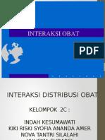 PPT Interaksi Obat (interaksi distribusi)