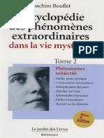 Encyclopédie Des Phénomènes Extraordinaire dals la Vie Mystique - Tome 2