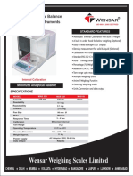 Motorized Analytical Balance