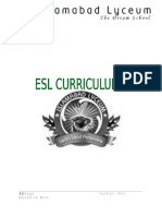 ESL Curriculum n