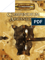 [D&D][FR] Compendium Arcanique