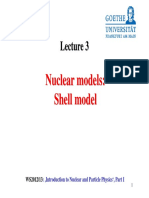 Nuclear Models Shell