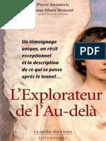 L'Explorateur de l'Au-Delà - Pierre Jovanovic