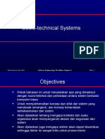 1. Socio Technical Systems