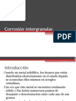 Corrosión intergranular