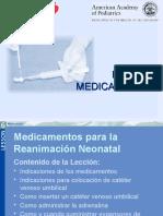 Medicamentos Reanimacion Neonatal