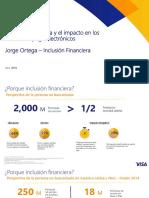 Inclusión financiera y el impacto en los medios de pago electrónicos