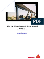 Sika Flat Glass Training Manual