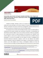 "Reseña de ""Jaume Ayats, Anna Costal e Iris Gayete <<Cantadors del Pallars. Cants religiosos de tradició oral al Pirineu>>"