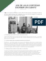 10 Consejos de Julio Cortázar Para Escribir Un Cuento