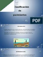 Tema 2 Clasificacion de Yacimientos