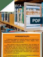 Manual Do Treinamento Base de Dados