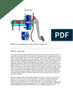 Brake System Operation