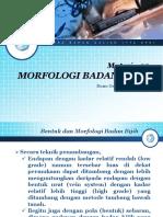Materi 02 Morfologi Badan Bijih